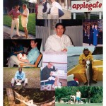 A photo collage of Aaron Applegate photographs.